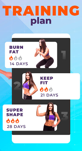Foto do Burn fat workout in 30 days. HIIT training at home