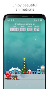 Christmas live wallpapers and countdown