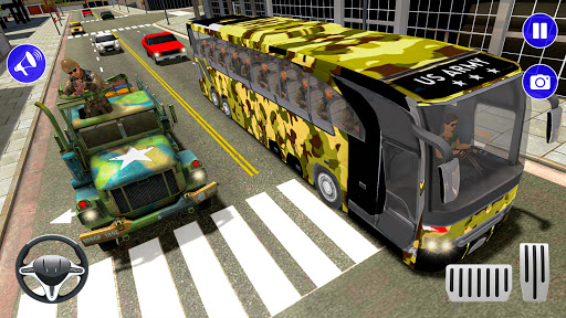 Army Bus Driver u2013 US Military Coach Simulator 3D apktram screenshots 13