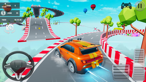 Mega Ramp Car Stunts 3D: Free Ramp Car Games 2021 screenshots 10