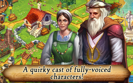 Runefall - Medieval Match 3 Adventure Quest screenshots 8
