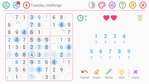 Free Sudoku Game screenshots 5