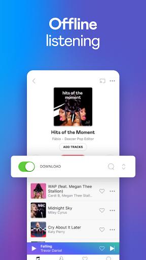 Deezer Music Player: Songs, Playlists & Podcasts screenshots 3