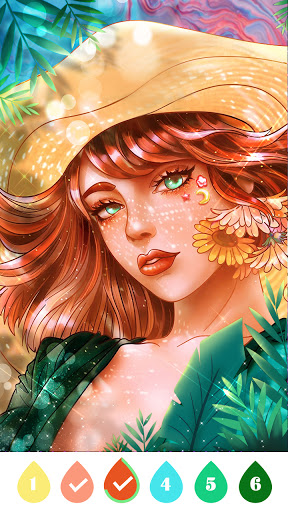 Coloring Games -Paint By Number&Free Coloring Book APK MOD Download 1