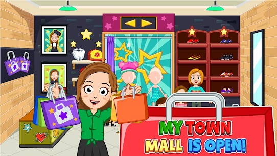 My Town: Shopping Mall – Shop & Dress Up Girl Game 5