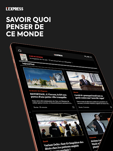 L'Express I Actualités, Infos, France, Monde  screenshots 15