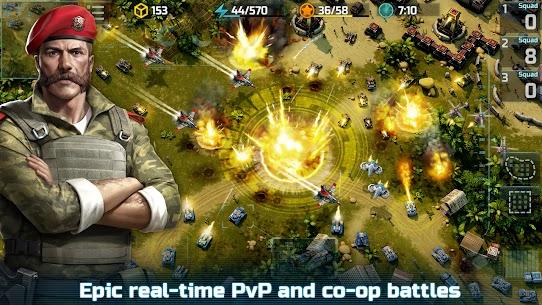 Art of War 3: PvP RTS modern warfare strategy game 1.0.87 Apk + Mod 1