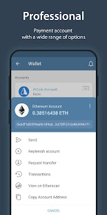 iMe Messenger & Crypto Wallet Screenshot