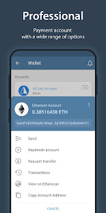 iMe Messenger & Crypto Wallet 7.9.3 Screenshots 8
