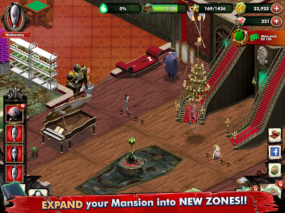 Addams Family: Mystery Mansion MOD APK 0.3.6 (Unlimited Coin) 14