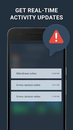 WhatsAgent: Online Notifier and Last Seen History screenshots 3