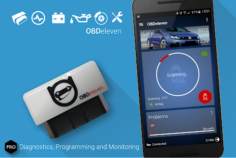 OBDeleven car diagnostics Screenshot