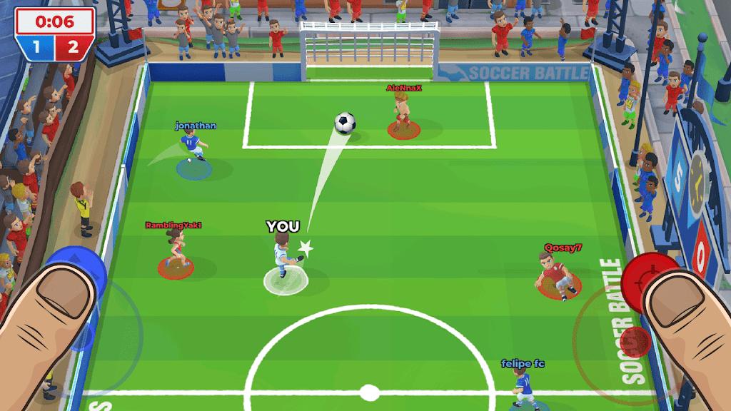 Soccer Battle - 3v3 PvP poster 1