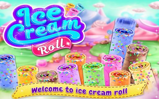 Ice Cream Roll - Stir-fried Ice Cream Maker Game  screenshots 1