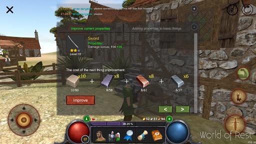 World Of Rest: Online RPG 1.35.0 screenshots 12