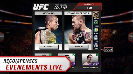 EA SPORTS™ UFC® Capture d'écran