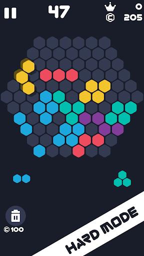 Hexa Mania Fill Hexagon Puzzle, Hex Block Blast  screenshots 5