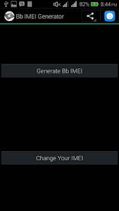 Bb IMEI Generator 2.5