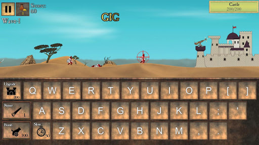 Type Defense - Typing and Writing Game  screenshots 1