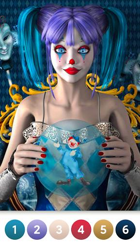 Coloring Magic: Paint by Number Free Art Games apktram screenshots 2