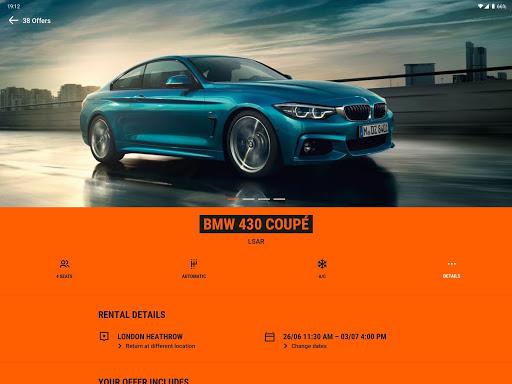 SIXT: Car rental, Carsharing & Taxi 9.40.2-10277 Screenshots 7