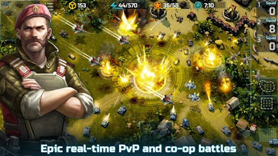 Art of War 3: PvP RTS modern warfare strategy game 1.0.87 Latest MOD APK 1