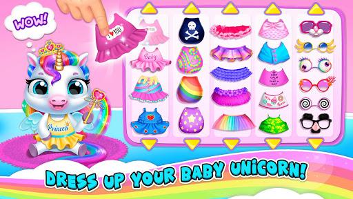 My Baby Unicorn 2 - New Virtual Pony Pet android2mod screenshots 3
