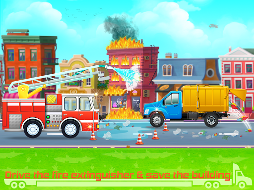 Kids Truck Games: Car Wash & Road Adventure 1.0.8 screenshots 5