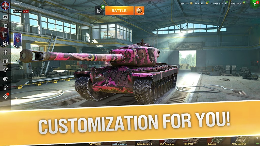 World of Tanks Blitz PVP MMO 3D tank game for free poster 0