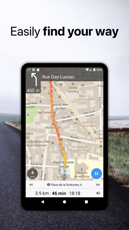 Guru Maps Pro - Offline Maps & Navigation  poster 1
