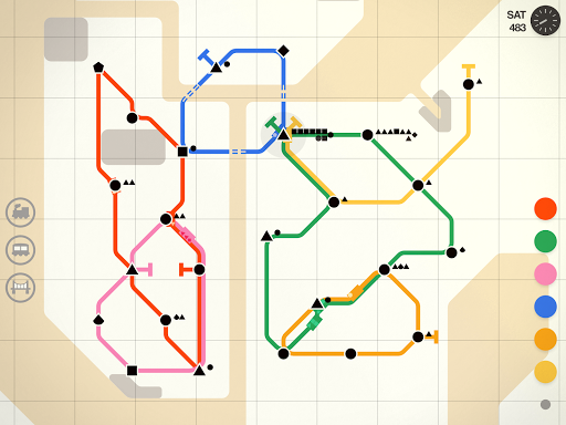 Mini Metro Varies with device screenshots 18