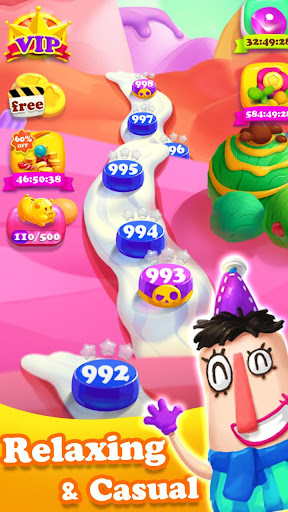 Crazy Candy Bomb - Sweet match 3 game 4.6.1 screenshots 4
