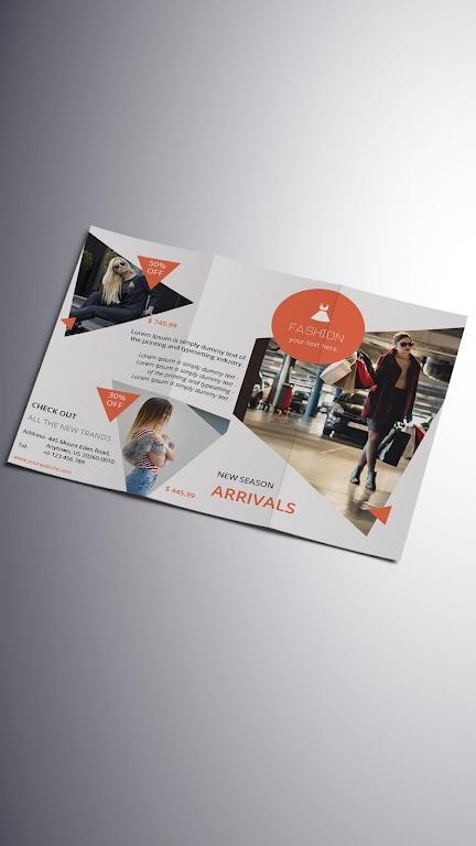 Brochure Maker - Pamphlets, Infographics, Catalog  poster 6