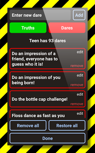 Truth Or Dare ud83dudd25 2020 Ultimate Party Game 9.7.4 screenshots 6