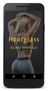 Hourglass Booty Workout: curvy and cut fitness app