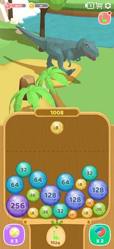 Dino 2048: Merge Jurassic World 1.0.9 screenshots 5