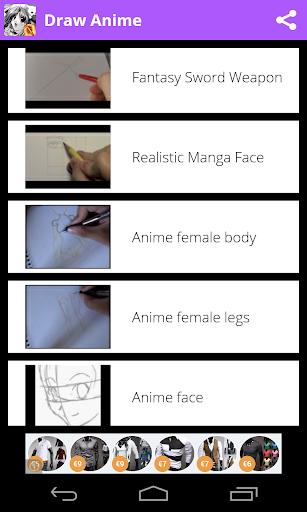 Draw Anime - Manga Tutorials 3.0.1 Screenshots 5
