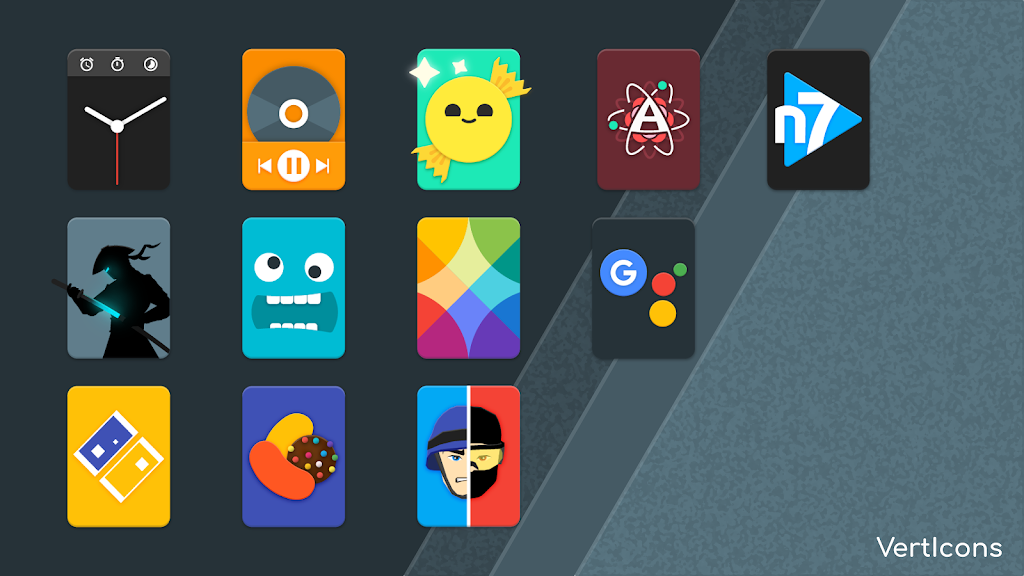 Verticons Icon Pack  poster 2