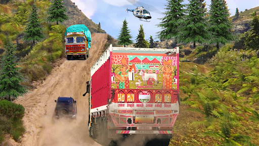 Code Triche Indian Truck Evolution (Simulator) - Hill Driving (Astuce) APK MOD screenshots 4