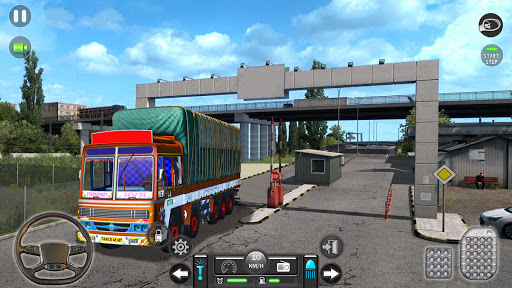 Real Mountain Cargo Truck Uphill Drive Simulator android2mod screenshots 6