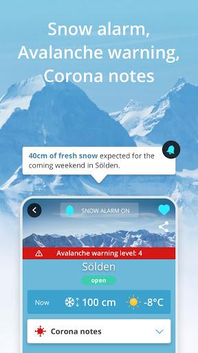 Snowthority: ski, snow, lift, slope map & ski info  Screenshots 4