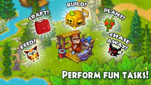 Animal Villageuff0dforest farm & pet evolution games apkslow screenshots 14