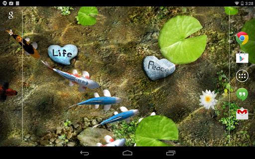 Koi Live Wallpaper  screenshots 9