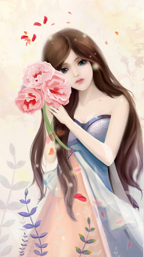 Gentle Girl Live Wallpaper For PC Windows (7, 8, 10, 10X) & Mac Computer Image Number- 7
