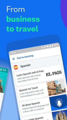 Busuu - Learn Languages - Spanish, Japanese & More screen 1