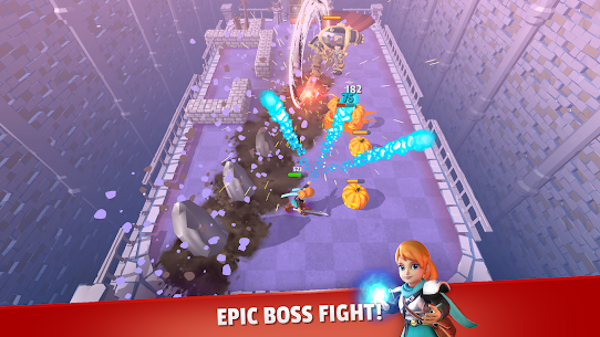 Dashero: Archer Sword 3D – Offline Arcade Shooting 5