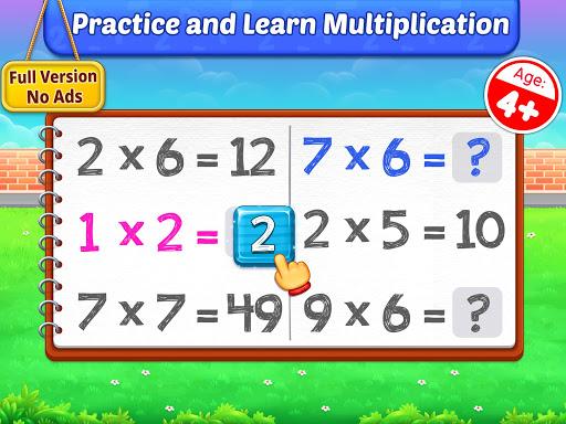 Multiplication Kids - Math Multiplication Tables apkpoly screenshots 17