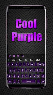 Cool Purple Keyboard