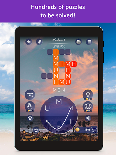 Word Beach: Fun Relaxing Word Search Puzzle Games  screenshots 19