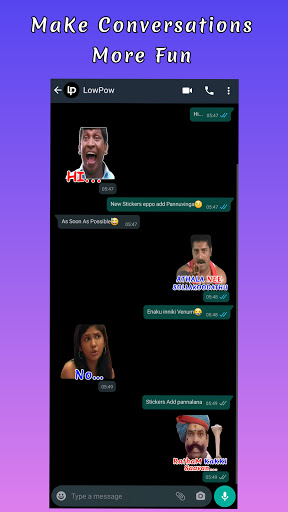 TamStick - Animated Tamil Stickers, WAStickerApps android2mod screenshots 3